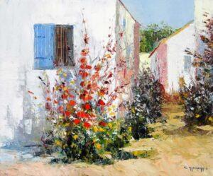 Summer landscape, Celestin Messaggio