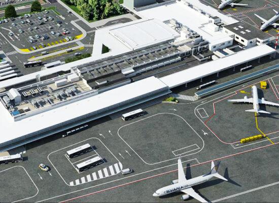 Ciampino Airport (CIA), Second Airport after Leonardo da Vinci – Fiumicino Airport (FCO).
