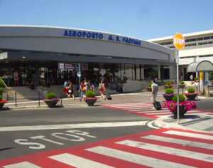 "Ciampino International Airport ""G. B. Pastine"" (CIA), Second Airport after Leonardo da Vinci – Fiumicino Airport (FCO). The Smallest and Nearest Airport to Rome (12 km.)"