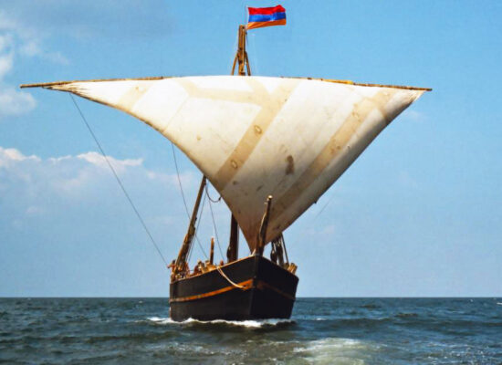 Life size Replica of the Medieval Vessel of Cilician Kingdom of Armenia (1080–1375). Vessel was built during 11 years.