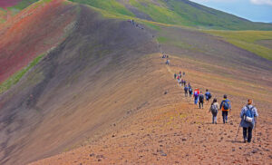 Climbing Mount Azhdahak (3597m.)