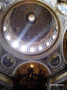 Cupola (inside), St. Peter's Basilica.