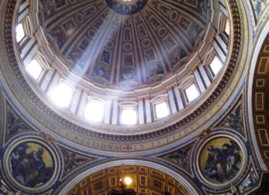 Cupola (inside), St. Peter's Basilica.