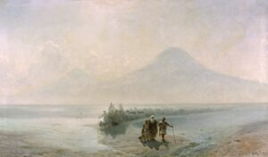Descent of Noah from Ararat,1889, National Gallery of Armenia