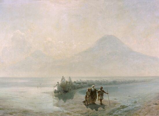 Descent of Noah from Ararat,1889, National Gallery of Armenia.