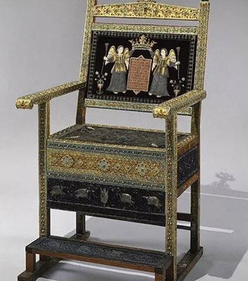 Diamond throne of Tsar Alexis Mikhailovich, 1659, Kremlin Armoury