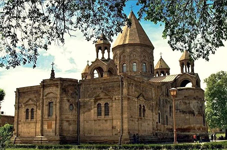 Etchmiadzin Cathedral - Мother Church of the Armenian Apostolic Church. UNESCO World Heritage. 301 AD.