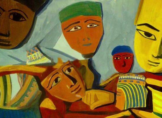 Egyptian Masks, Saryan