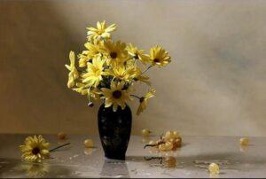 Flowers in vase, Giuseppe Muscio