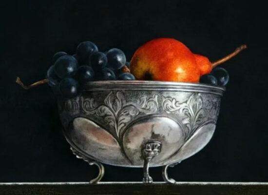 Frutta in un vaso, Ottorino De Lucchi