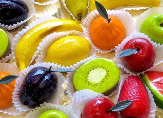Frutta Martorana - marzipan sweets, Palermo, Messina, Sicily