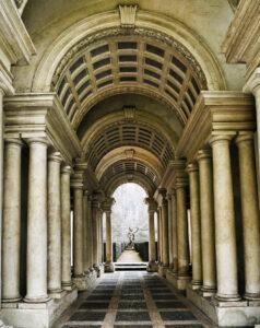 Galleria Spada, Sword Gallery,The Perspective of Francesco Borromini.