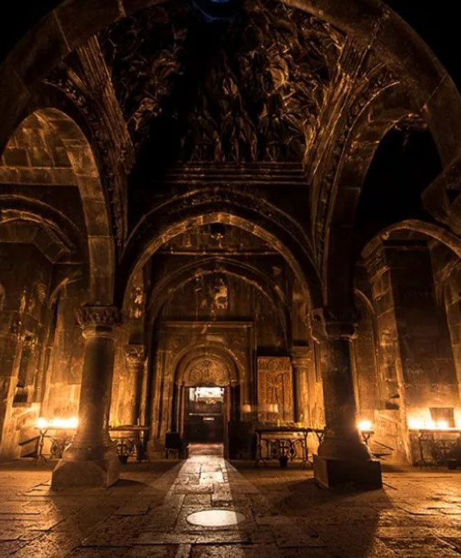 Gavit of Geghard Monastery, Armenia