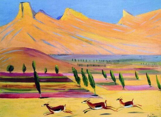 Gazelles, 1926.