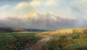 Gevorg Bashinjagyan Meadow among the mountains 1913