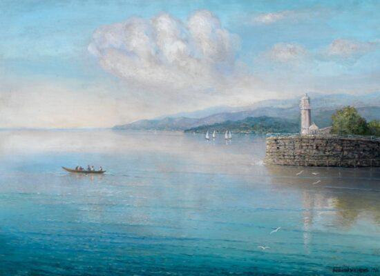 Port of Batumi. 1906, Gevorg Bashinjagyan