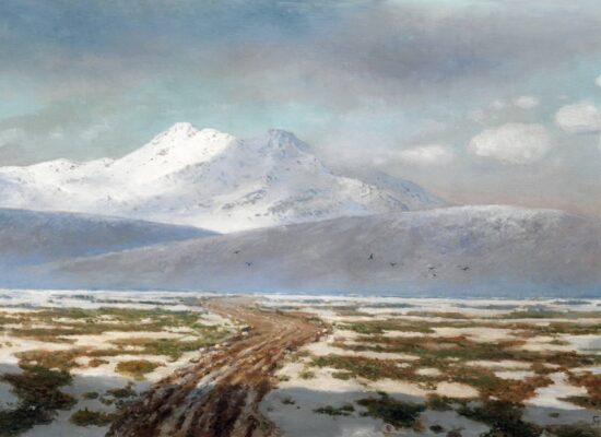Gevorg Bashinjagyan View of Mount Kazbek 1914