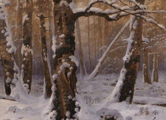 Gevorg Bashinjagyan Winter Morning 1909