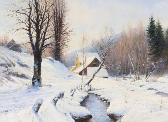 Gevorg Bashinjagyan Winter sketch