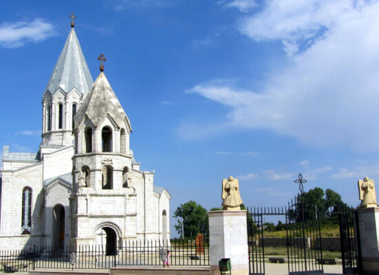Ghazanchetsots Cathedral.