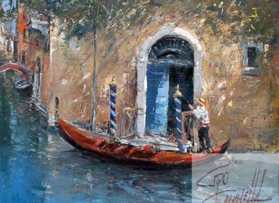 Gondolier, Palazzo Donn Anna Posillipo, Ciro Canzanella