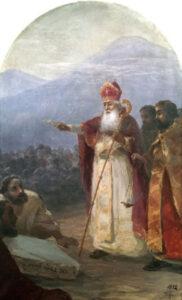The Baptism of the Armenian people. Gregory the Illuminator, Grigor Lusavorich, I. K. Aivazovsky, 1892