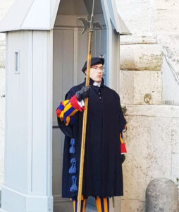 Pontifical Swiss Guard.