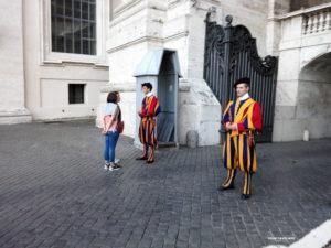 Papal Swiss Guards