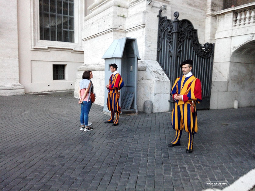 Tourists and Guards
