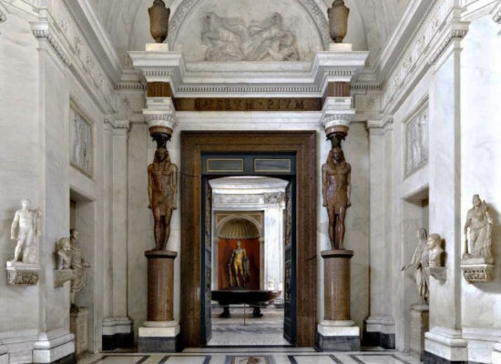 Statues of Antinous Found at Hadrian's Villa, Hall of the Greek Cross, Pio Clementino Museum