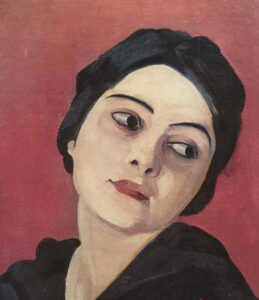 Head of the Girl, 1923
