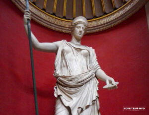 The Barberini Hera, Roman Copy after a Greek Original. Museo Pio-Clementino.