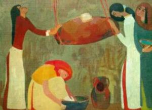 Hnotsi, Butter Churn, 1964, Minas Avetisyan