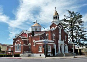 Holy Trinity Church, 1913-1914, Fresno, California.