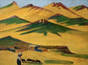 Hot day in mountains, 1920