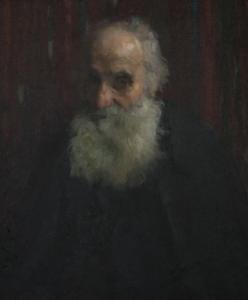 Hovsep Pushman Portrait of a rabbi
