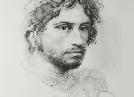 Drawing of a Man, Pietro Annigoni