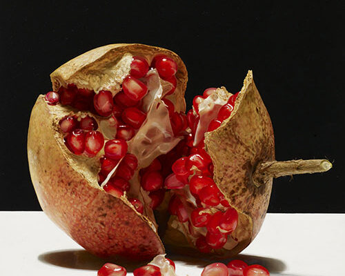 """Paintings """"Interno Rosso"""". Hyperrealism. Luciano Ventrone."""