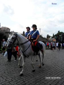 Italian Horse Police, Rome
