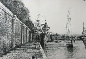 Dock in Venice,1988