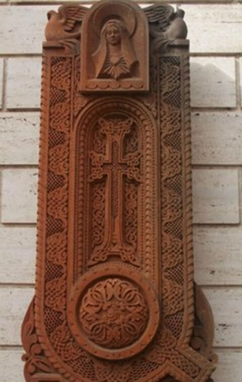 Khachkar, Armenian Church Chiesa di San Nicola da Tolentino