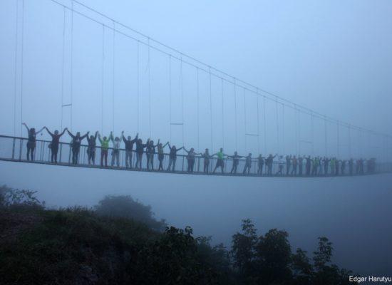 Swinging bridge, Khdzoresk, Syuniq Province