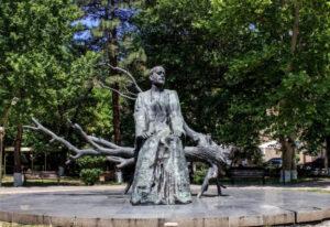 Komitas Vardapet Statue. Founder of the Armenian National School of Music.