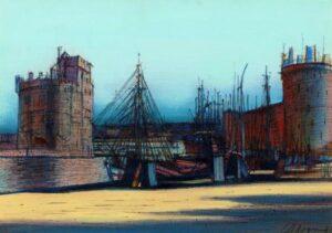 La Rochelle, 1981 oil on canvas
