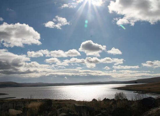 Lake Arpi, 2,025 m, Shirak Province