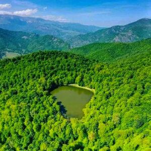 Lake Gosh, 1,400 m,Tavush Province
