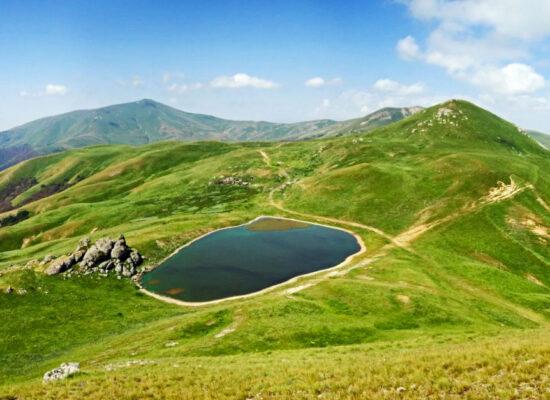 Lake Tsakhkunyats, 2,450 m, Kotayk Province
