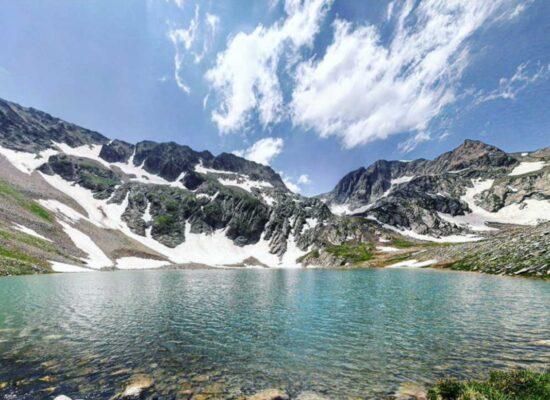 Lake Tsakqar, 3,272 m, Stunik Province