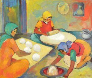 Lavash Bakers, 1962, Minas