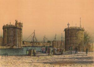 Le Port de la Rochelle, 1982.